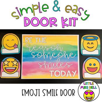 Door Decoration Kit: Emoji