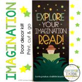 "Door Decoration Kit - Explore Your Imagination, Read! - ""Read Across America"""