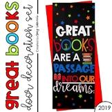 Door Decoration Set: Great Books