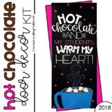 Door Decoration Set: Hot Chocolate (January)