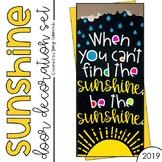 Door Decoration Set: SUNSHINE (June Door)