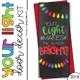 Door Decoration Set: Your Light (December)