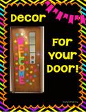 Door Display Back to School
