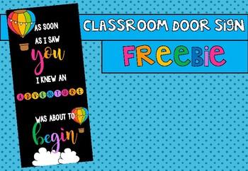 Door Display Freebie