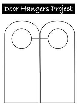 Door Hanger Project