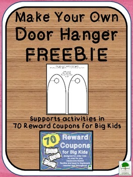 Door Hanger Template FREEBIE