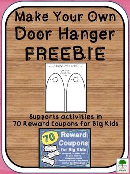 Door Hanger Template FREEBIE