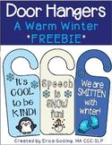 Door Hangers - A Fun Winter FREEBIE!