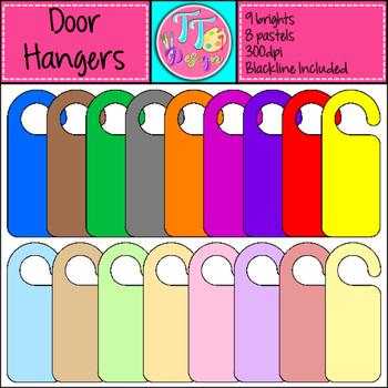 Door Hangers Clip Art CU OK