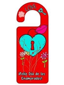 Door Knob Hangers in Spanish