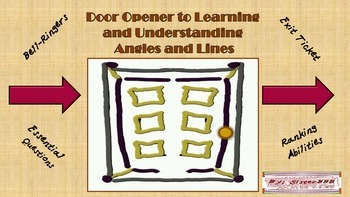 Door Opener to Learning and Understanding Angles and Lines