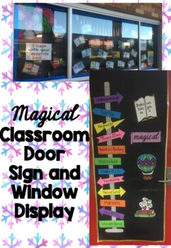 Door Sign Magical Adventure