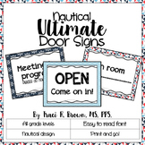 Door Signs - Nautical Theme