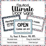 Door Signs - Nautical Theme