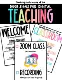 Door Signs for Digital Teaching