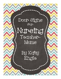 Door Signs for Nursing Teacher-Moms