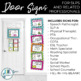 Door Signs for SLPs and Related Professionals {Brights}