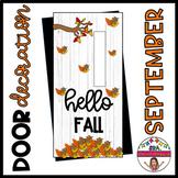 """Door decoration: """"Happy fall/Hello fall or Happy Fall y'al"""