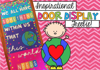 Door display FREEBIE!