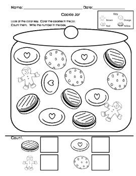 Doorbell Rang Graphing, Sorting, Writing Worksheets Bundle C-scope CC