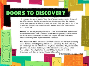 Doors To Discovery: Introduction
