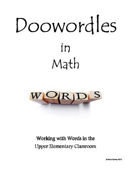 Doowordles in Math Sample - Vocabulary Worksheets & Quizzes