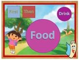 Dora the Explorer Inspired Lunch Mat