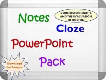 Dorchester Heights Pack (PPT, DOC, PDF)