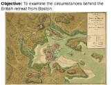 Dorchester Heights and the British Evacuation of Boston PPT