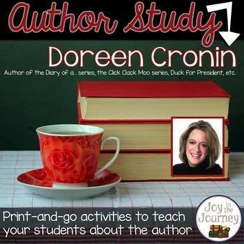Doreen Cronin Author Study