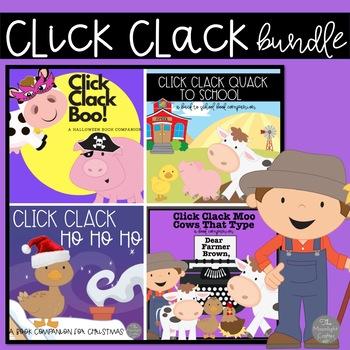 Doreen Cronin Click Clack Book Companion Bundle