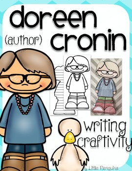 "Doreen Cronin ""Craftivity"" Writing page (Author of Click Clack Moo)"