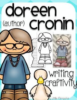 "Doreen Cronin ""Craftivity"" Writing page (Author of Click Clack Moo)"