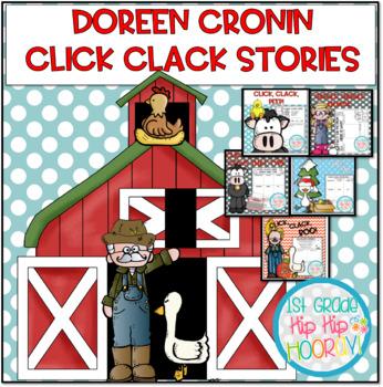 Doreen Cronin Literacy Activities...Down on the Farm