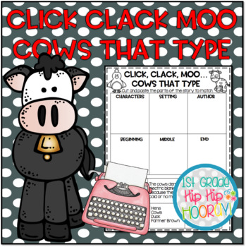Doreen Cronin's Click Clack Moo...Cows That Type...Literary Companion
