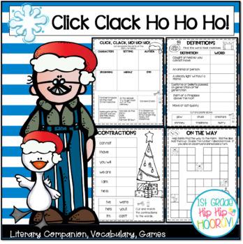 Doreen Cronin's Click, Clack Ho! Ho! Ho! ... A Literary Companion