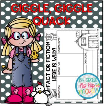 Doreen Cronin's Giggle Giggle Quack...Literary Companion