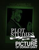 Dorian Gray Plot Study (Graphic Organizers) + Psycho Analysis Worksheet