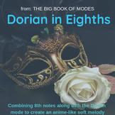Dorian in Eighths (Original Colored Sheet Music) (Big Book