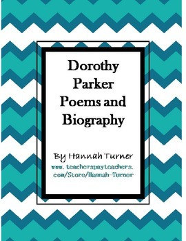 Dorothy Parker Poems and Biography