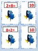 Dory and Nemo Addition Math Matching Game