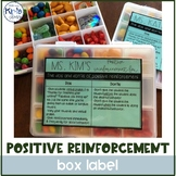 Dos & Don'ts of Reinforcement Label - FREE!