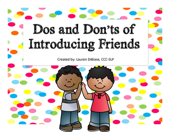 Dos and Don'ts of Introducing Friends -Life/Social Skill
