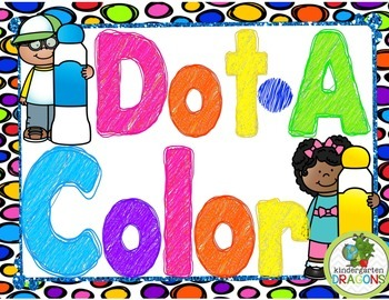 Dot-A-Color BINGO Dauber Activities