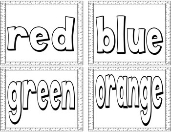 Dot-A-Color BINGO Dauber Activities