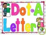 Dot-A-Letter BINGO Dauber Activities