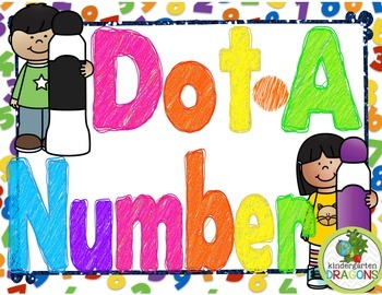 Dot-A-Number BINGO Dauber Activiites