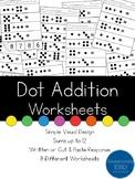 Dot Addition Worksheets