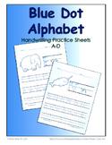 Dot Alphabet A-D