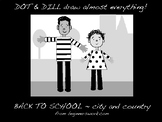 Dot And Dill Draw Almost Everything ~ Back To School ~ cit